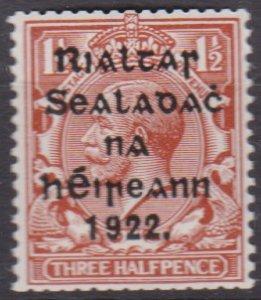 Ireland 1922 Scott 21 coil MNH