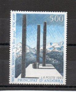 Andorra - French 431 MNH