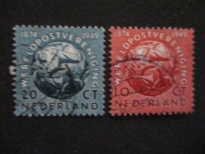Netherlands #323-24 Used WDWPhilatelic (H5K7)