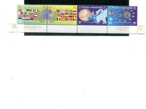 Bosnia   2005  Europa strip 4 Mint VF NH