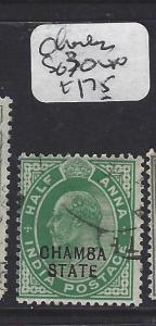 INDIA  CHAMBA   (PP0707B)  KE  1/2A  SG 30  VFU