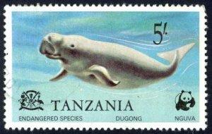 Tanzania Sc# 86 Used (a) 1977 5sh Dugong