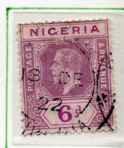 Nigeria 1914-27 Early Issue Fine Used 6d. 025021