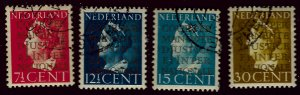 Netherlands  (O16-O19) Used VF SCV $38...Fill in tough spots!!