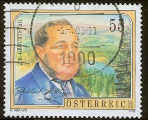 Austria - 2005 - Scott #2026 - used - Stifter Writer
