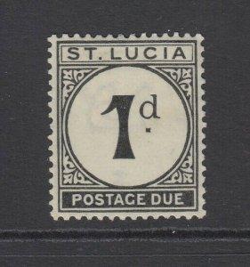 St. Lucia, Scott J3 (SG D3), MHR