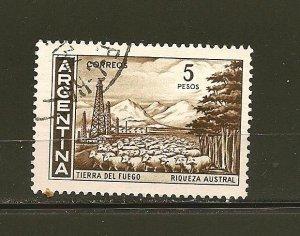 Argentina 695 Tierra del Fuego Used