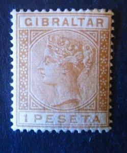 Gibraltar #36 Mint Hinged - (AZ4) WDWPhilatelic!