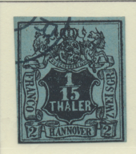 Hanover (German State) Stamp Scott #5, Used - Free U.S. Shipping, Free Worldw...