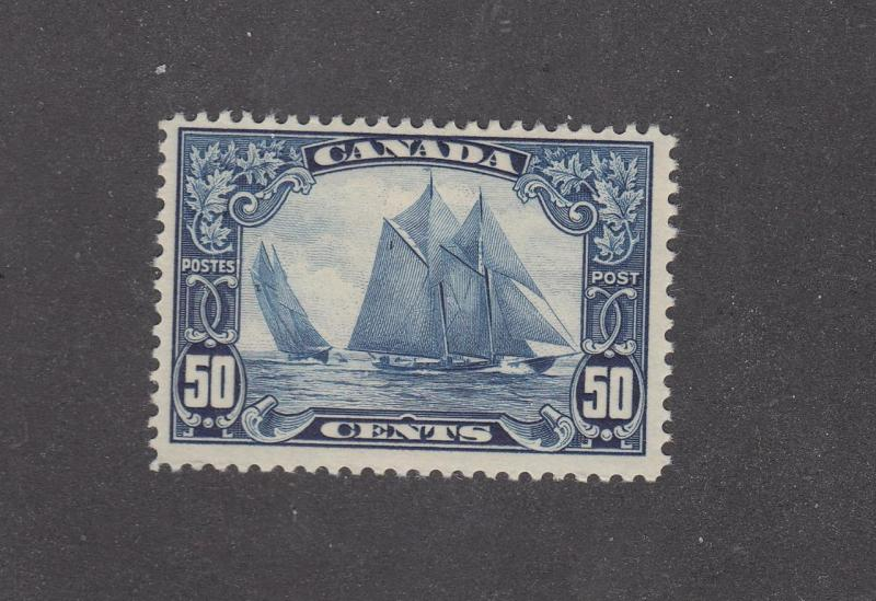 CANADA  # 158 VF-MLH 50cts BLUENOSE CAT VALUE $300+