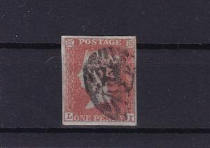 great britain penny red 1841 imperf stamp ref r13679