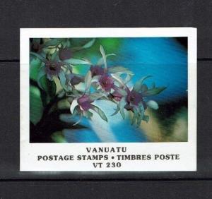 Vanuatu: 1982 Stamp Booklet, Orchids, Flowers,  SB3