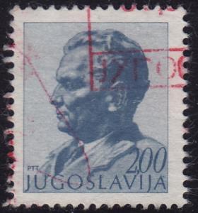 Yugoslavia - 1974 - Scott #1201 - used - Tito