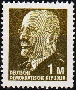 Germany(DDR). 1969 1M S.G.E1197 Unmounted Mint