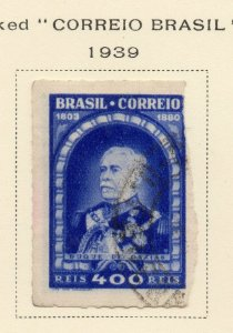 Brazil 1939 Early Issue Fine Used 400r. NW-12112