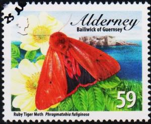 Alderney. 2012 59p fine Used