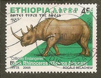 Ethiopia   Scott  1690     Animal      Used