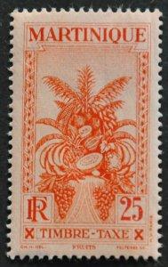 DYNAMITE Stamps: Martinique Scott #J29 – MINT hr