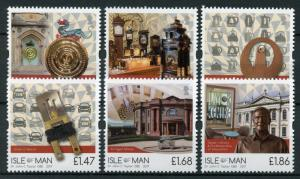 Isle of Man IOM 2017 MNH Dr John C Taylor OBE Inventions 6v Set SEPAC Stamps