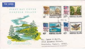 Norfolk Island 194-197 Set MNH American Bicentennial (C)