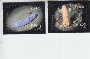 2018 Iceland Seabed Ecosystem III (2) (Scott NA) MNH