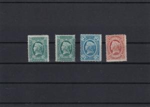 Guatemala 1875 No Gum Stamps Ref 28146