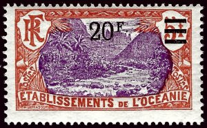 French Polynesia SC#69 Mint F-VF...fill a key spot!!