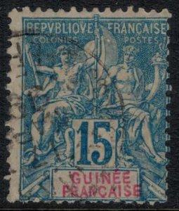 French Guinea #7  CV $8.00
