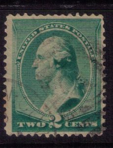 US SCOTT #213 USED VF