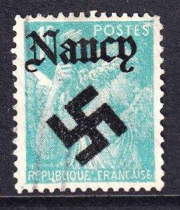FRANCE 379 NANCY OVERPRINT USED F/VF SOUND