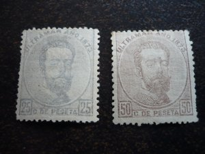 Stamps - Cuba - Scott# 55,56 - MH - Partial set of 2 stamps