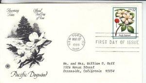 1998, Pacific Dogwood, PCS, FDC (E7765)