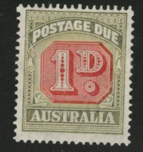 Australia  Scott J72 MH* 1947 postage due