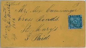 NOVA SCOTIA -  POSTAL HISTORY:  COVER to ST. MARY'S w/arrival cancelation