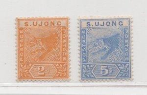Malaya Sungei Ujong - 1891-94 - SG51-52 - 2c-5c -  MNH #626