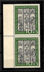 GERMANY STAMPS 1951, Mi.#139. CV=€220, MNH