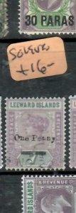 LEEWARD ISLANDS (P2308BB)  QV  1D/7D  SG 19     VFU