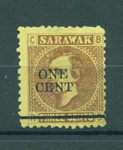 Sarawak sc# 25 mng cat value $3.00
