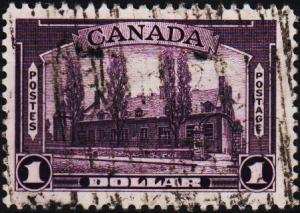 Canada.1937 $1 S.G.367 Fine Used