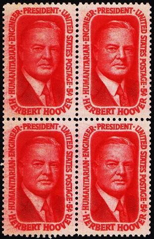 United States. 1965 5c(Block of 4) S.G.1251 Unmounted Mint