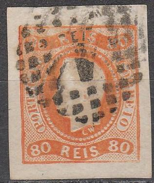 Portugal #22 F-VF Used CV $50.00 (A16418)