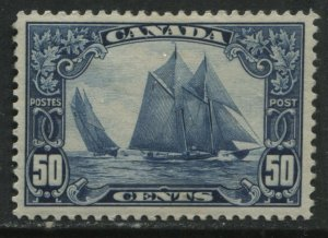 Canada KGV 1929 50 cents Bluenose mint o.g. hinged