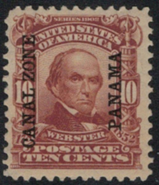 Canal Zone 8 VF/XF OG NH, a select mint NH example, ..MORE.. gg0690