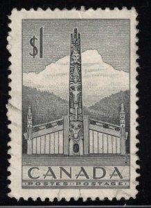 CANADA - $1 Totem Pole SC321 1953