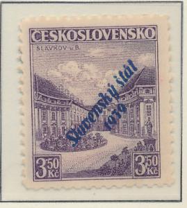 Slovakia Stamp Scott #20, Mint Hinged, Light Gum - Free U.S. Shipping, Free W...