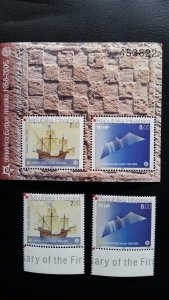 50th anniversary of EUROPA stamps - Croatia 1x Bl + 1x set complete ** MNH