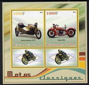 MALI SHEET CLASSIC MOTORCYCLES