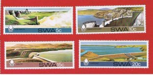 South West Africa #467-470  MNH OG  Water Conservation    Free S/H