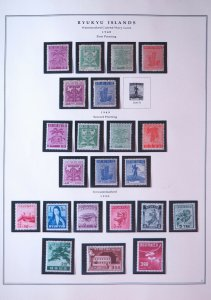 Collection of 316 Ryukyu Islands Stamps and Postal Stationary in Scott Binder
