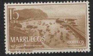 Morocco Northern Zone Scott 2 MH* 1956 stamp